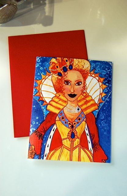 Queen of Hearts 4X5 card- Image 3