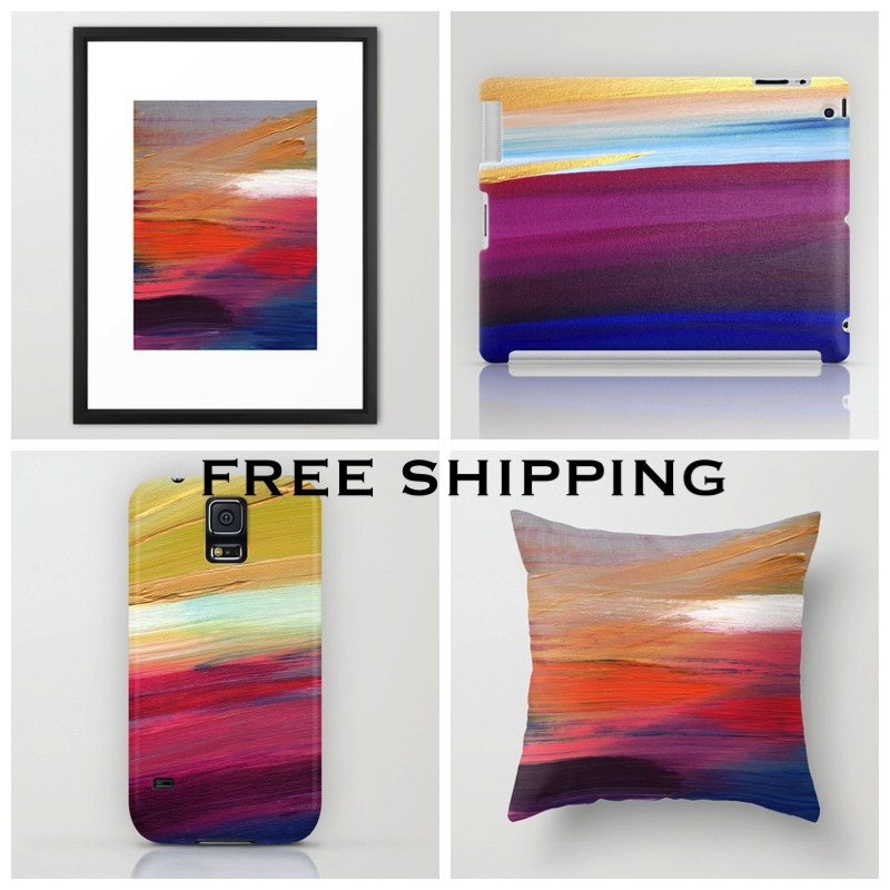 SOCIETY 6 AD - SUNSET LAKE