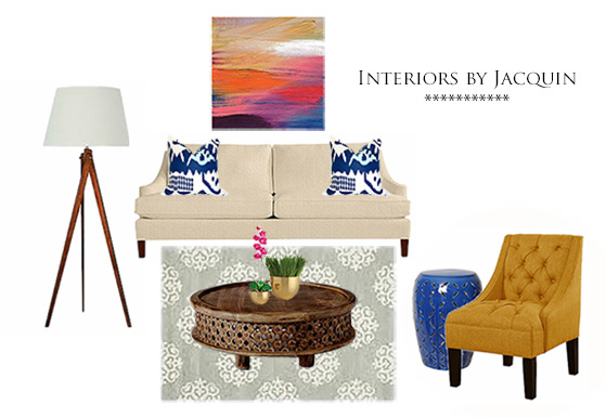 Christoff Davis Blue Design - Interiors by Jacquin2