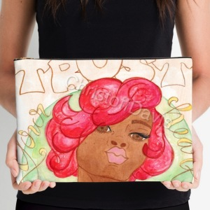 Trust Your Heart...Large Clutch